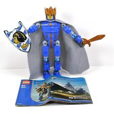 Lego Knights Kingdom King Mathias Set 8809 Complete with Instruction No Canister