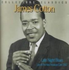 Late Night Blues Live at The Penelope Cafe by James Cotton CD 068944914029