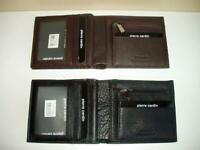 Pierre Cardin RFID Men's Wallet Bi-Fold Genuine Italian Leather-Black or Brown