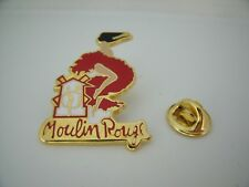 Pin's Pins Pin Badge PARIS CABARET MOULIN ROUGE FRENCH CANCAN ARTHUS BERTRAND