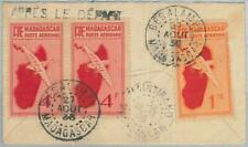 77368 - MADAGASCAR  - POSTAL HISTORY -  Registered COVER from BESALM 1937