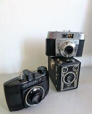 3 x alte Kamera @ Agfa Synchro Box + Compur Radio +  Perfecta II Bakelit
