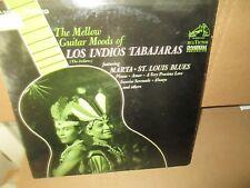 LOS INDIOS TABAJARAS (THE INDIANS) - MELLOW GUITAR rare Vinyl Lp Rca VG+