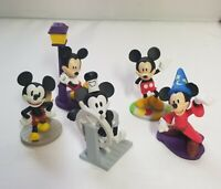 DISNEY MICKEY MOUSE 90 YEARS OF MAGIC ANNIVERSARY PVC LOT 2018