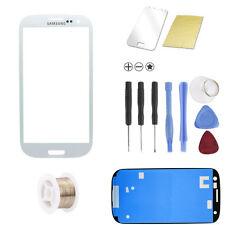 Samsung i9300 Galaxy S3 Weiss Glas Glass Scheibe Front TOUCHSCREEN + Werkzeug