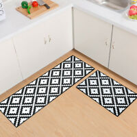 Kitchen Area Non Slip Rug Bedroom Floor Mats Hallway Door Entrance Carpet Runner