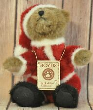 Boyds The Head Bean Collection Kringles Santa Claus Bear Christmas Gift
