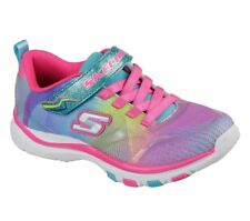 New Girl's Skechers 81488L trainer Lite Dash N Dazzle Shoes Size 13 (N23)