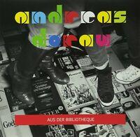 ANDREAS DORAU - AUS DER BIBLIOTHEQUE  VINYL LP + CD NEW
