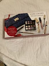Estee Lauder Make Up Set All Out Glamour 7 Pieces 6 full size Nib
