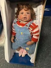 Monika Levenig Künstlerpuppe Vinyl Puppe 66 cm. Top Zustand