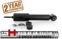 2 NEW FRONT SHOCK ABSORBERS FOR VW TRANSPORTER IV T4 2003/GH-334710K