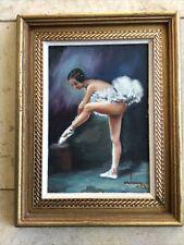 Peinture HSP «DANSEUSE» - José Jorge ARDANUY (1914-?) - ESPAGNE