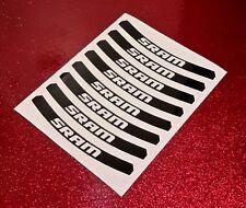SRAM Vinyl Sticker Sheet (wheel-pack) ***All Colours!***