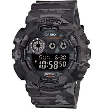 Casio Men's G-Shock Woodland Camouflage Day Date Sport Stopwatch Watch GD120CM-8
