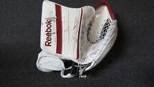 Used C.J. Motte Reebok Lefevre Pro Stock Goalie Catcher.  Left Hand Ferris State