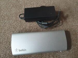 Belkin Thunderbolt 2 F4U085 Express Dock HD - Silver