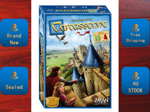 Carcassonne Brand New & Sealed Board Game AU STOCK