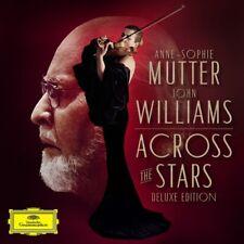 ACROSS THE STARS (DELUXE EDITION )-MUTTER,ANNE-SOPHIE/WILLIAMS,JOHN  CD+DVD NEUF