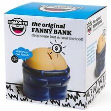 (12) Fanny Bank Funny Gag Fart Sound Coin Drop Butt Bank - wholesale (1 dozen)