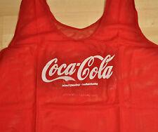 Coca-Cola Coke Germany Netzhemd Trikot-Überzieher Shirt