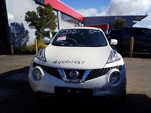 NISSAN JUKE 2018 VEHICLE WRECKING PARTS ## V001287 ##