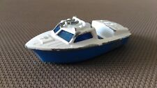 Boat Miniature Matchbox Superfast« Police Launch N° 52 '1976 IN Good Condition