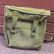 Vietnam US Army Canvas 7961712 Document & Accessory Bag for Military Radio WW 2