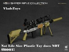 Easy & Simple 1/6  NSW sniper rifle Mk14Mod1 aluminum  06010 E *Not Life Size*