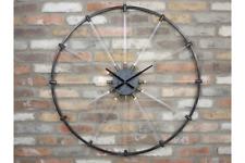93cm Rueda de Bicicleta Negro Grande Estilo Reloj Luz radios bicicletas Industrial
