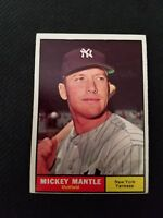 1961 Topps Mickey Mantle #300  Ext mint