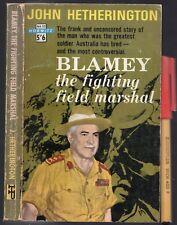 Rare WWII Australian Army Thomas BLAMEY the Fighting Field-Marshal 226pg