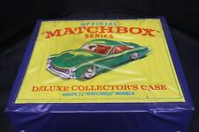 60 + Matchbox And Other Collectible Toy Cars In Original Carrying Case -A19