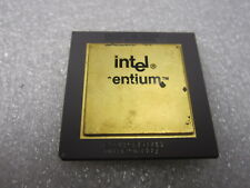 Intel Pentium 60 A80501-60 SX948, Vintage CPU, GOLD