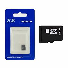 10 x 2GB NOKIA MU-37 Micro SD Memory Cards with Samsung SD Adapter