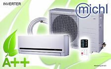 Michl Inverter Single-Split Klimagerät, Klimaanlage, 12000 BTU, 3,5 kW, A++ SK12