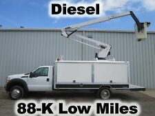 F550 Diesel Versalift Bucket Boom Omni Lift Lighting Utility Service Truck
