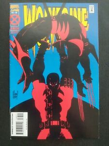 Wolverine #88 (1994) 1st Battle of Wolverine vs Deadpool