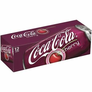 COKE CHERRY USA IMPORT 12 X 355ML cans