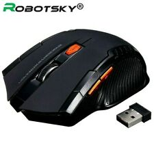 2.4GHz Wireless Optical Mouse Gamer New Game Wireless Mice with USB Receiver