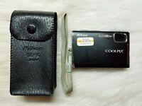 Nikon Coolpix S51 8.1MP Digital Camera with 3x Optical Zoom (Matte Black)