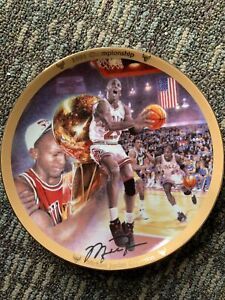 Michael Jordan Collection 1991 Championship Plate Upper Deck