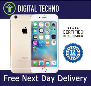 Unlocked Apple iPhone 6 - Gold 64GB - Network & SIM Free + 1 Year Warranty