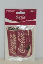Airpure Coca Cola Cherry Car Air Freshener Twin Pack Fragrance Scent Retro Coke