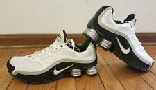 Nike Shox Turbo Size 10 US EUR 44 366410-001 White Silver Black