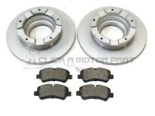FORD TRANSIT CUSTOM 2.0 2.2 TDCi REAR 2 BRAKE DISCS & PADS (CHECK SIZE 308MM)
