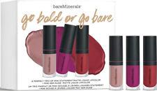 bare Minerals GO BOLD OR GO BARE Mini Statement Matte Lipcolor Trio w/ SLAY OMG