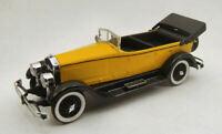 Coche Auto Escala 1:43 rio Isotta Fernandez 8A 1924 Yell. miniaturas Die