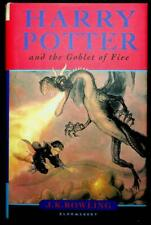 Harry Potter Goblet Fire Rowling 2000 with errors Rare Bath Press childrens bk