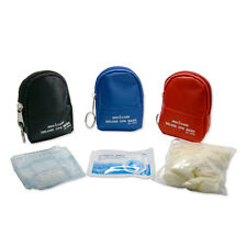 50 pcs/lot CPR Face Shield Kit CPR Face Mask Keychain Kit CPR First Aid Training